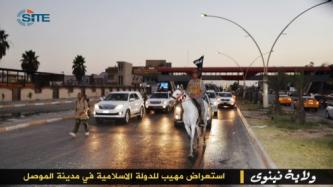 ISIS Continues Promoting Battles in Ninawa, Shows Executions and Parades