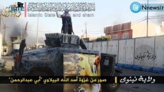 ISIS Releases Pictures Sets from Attacks and Parade in Ninawa