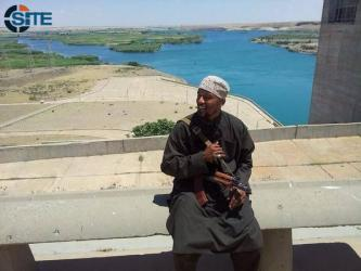 German Jihadist Denis Cuspert Photographed at Mosul Dam