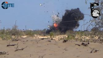 Ansar Beit al-Maqdis Video Shows Bombing of Egyptian Army Vehicle