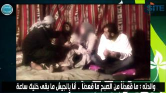 Al-Nusra Front Releases Video of Visit by Family of Captive Lebanese Soldier George Khoury