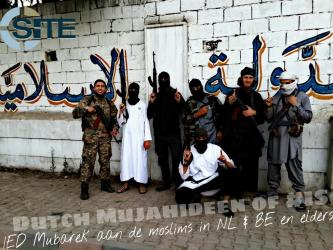 Belgian, Dutch Jihadi Fighters Featured on Twitter