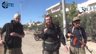 IS Fighters Speak from Kobani, Claim Advancing Despite Airstrikes