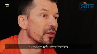 British Captive John Cantlie Discusses Botched Raid to Free Prisoners, Expresses Anger for Situation