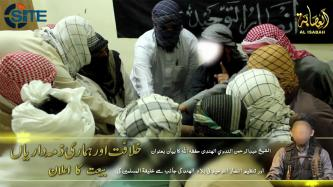 """Ansar al-Tawhid in the Land of Hind"" Pledges to IS, Repeats IS Spokesman's Call for Attacks"