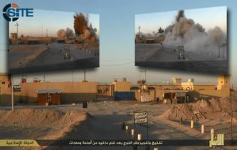 IS Publishes Photo Report on Base Abandoned by Iraqis Near Albu Eitha