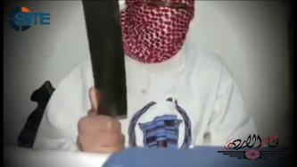 "Jordanian Jihadist Pledges to IS, Brandishes Cleaver to ""Cut Off the Heads of the Apostates"""