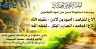 Pro-IS Forum Announces Death of Two Admins in Coalition Raid in Iraq
