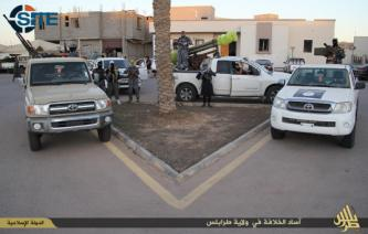 "IS Photo Report Shows Fighters in ""Tripoli Province"" of Libya"