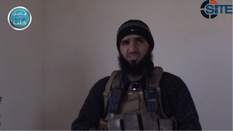 Al-Nusra Front Publishes Video of Fighter Detailing Battles in Aleppo