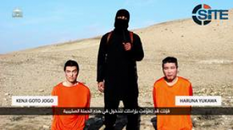 IS Threatens in Video to Behead Two Japanese Citizens Unless Paid $200M Ransom