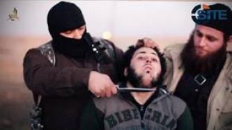 FSA Member Allegedly Working with Jordanian Intel Beheaded in IS Video