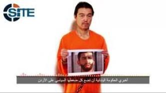 Japanese Hostage Kenji Goto Jogo Says Rishawi Must be Presented at Turkish Border by Thursday Sunset or Jordanian Pilot will be Killed
