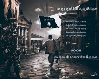 "IS Fighters and Supporters Persist with Threats to ""Conquer Rome"""