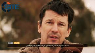 IS Captive John Cantlie Gives Tour of Aleppo in Video, Interviews French Fighter Calling for Attacks in France