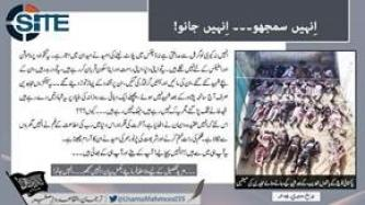 AQIS Clarifies Mission of Fighters in Light of TTP Attack on Peshawar School