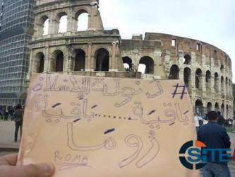IS Supporters Circulate Photos Threatening Italy, Other Nations