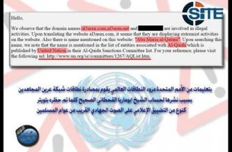 Pro-Nusra Front Jihadi Forum Accuses ICANN of Seizing its Domains on UN Recommendation
