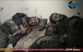 Islamic State Publishes Correction Regarding Photos Fighters Killed by Hamas Militias