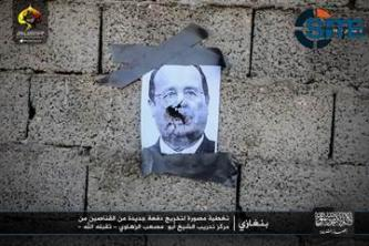 Ansar al-Shariah in Libya Uses Photos of Hollande, Sisi for Target Practice
