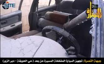Jihadist Proposes Fighters Use Remote Control Car Bombs, Not Suicide Attacker