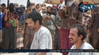 AQAP Issues Photo Report on Preparing Spies for Execution in Hadramawt