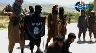 IS' Khorasan Province Executes Two Afghan Soldiers with Automatic Pistol in Video
