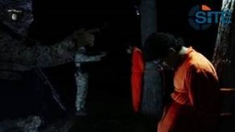 IS Video Shows Execution of Enemy Agents Bound to Trees in ar-Raqqah