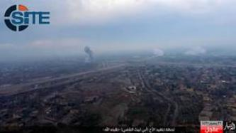 IS Flies UAV Over Target of Suicide Bombing in Anbar to Record Detonation, Aftermath