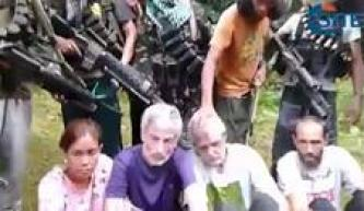 Philippines Jihadi Group Shows Four Hostages in New Video