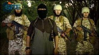 Uzbek IS Fighter Congratulates IMU for Pledging to Baghdadi, Children Execute Spies in IS Video