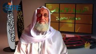Zawahiri Incites Lone-Wolf Attacks in U.S., West, Urges Fighters in Iraq, Syria Cooperate with IS Against Enemy Alliance