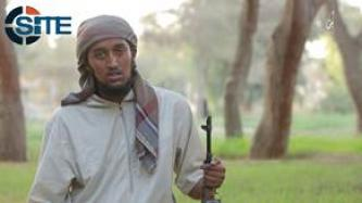 English-Speaking Somali IS Fighter Calls on Shabaab to Pledge to Baghdadi