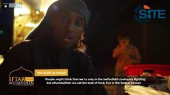IS Media Affiliate Releases Video of Foreign Fighters in Syria During Breaking of Ramadan Fast