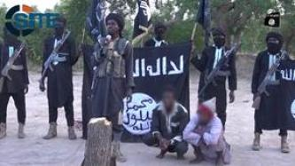 IS' West Africa Province Severs Hand of Accused Thieves in Video