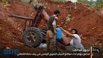 Jund al-Aqsa Reports Attacking Syrian and Russian Forces in Hama
