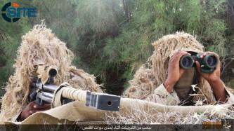 IS' Sinai Province Publishes Photos of Sniper Course Graduates
