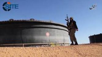 IS-Linked 'Amaq News Agency Shows Fighters Inside Sidra Oil Field