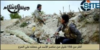 Jaish al-Islam Claims Killing Over 150 Regime Soldiers in East Ghouta
