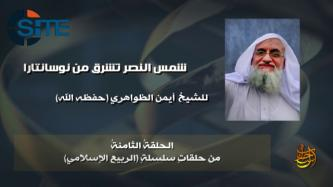 "Zawahiri Promotes al-Qaeda to Muslims in East Asia Over IS in 8th Episode of ""Islamic Spring"""