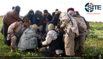 IS' Barqah Province Shows New Members Pledging to Baghdadi in Derna