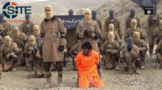 "IS' Khorasan Province Video Shows Training of ""Abu Bakr al-Siddiq Battalion,"" Execution of ""Apostate"""