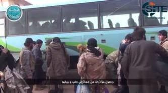 Nusra Front Video Shows Arrival of Reinforcement from Hama to Aleppo