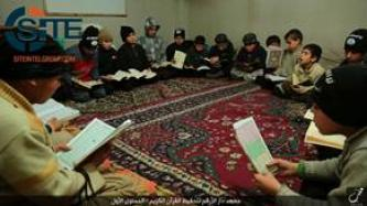IS' Aleppo Province Gives Photo Report on Qur'an Memorization Boarding School for Children