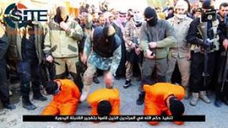 IS' Dijlah Province Executes Anti-IS Collaborators by Gunshot, Beheading in Video