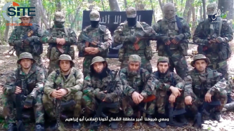Officials in IS' Caucasus Province Give Recruitment Call, Greet IS Leader
