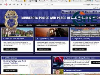 CCA Claims Defacing Minnesota Police & Peace Officers Assoc. in Video