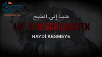 IS Affiliate Releases Video Version of German Chant Inciting Lone-Wolf Attacks in America, Europe, Russia