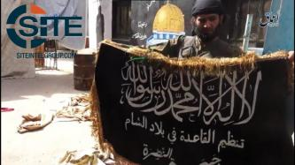 IS' Amaq News Agency Releases Video Showing of Capture of AQ Positions in al-Yarmouk Camp
