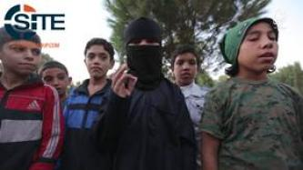 "IS Video from ar-Raqqah Shows Beheading of Spies, Child Threatening ""Cross-Worshippers"""